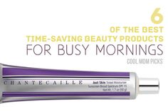 The best time saving beauty products, because we need every second.