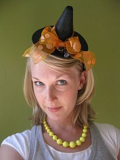Little Witch Hat Headband How-To