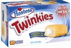 An American holiday isn't complete without an American dessert. #Twinkies