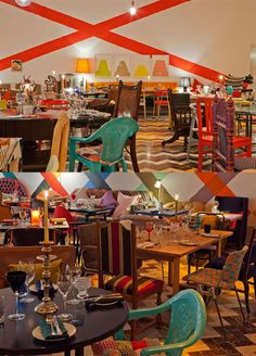 Sketch restaurant, London. Design by Martin Creed.