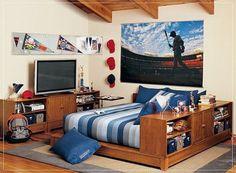bedrooms Teen boy bedroom