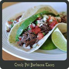 crock pots, barbados, crockpot barbacoa, food yummi, chipotle, dinners, barbacoa taco, crockpot meal, heavens