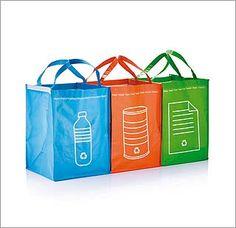 Eco bolsas para ayudarte a reciclr