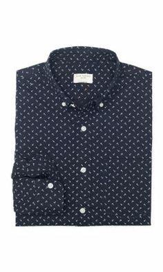 Slim-Fit Anchors Shirt