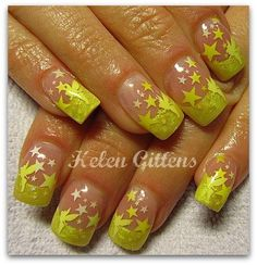 Tinkerbell nails!
