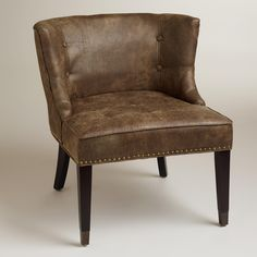 Bennett Chair | World Market--Goes perfectly with my couch. Is that a good thing or bad thing??