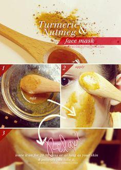 facial, mask recip, beauty secrets, turmer face, beauti