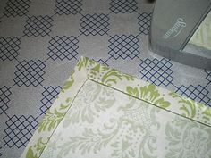 Faith, Trust, and Pixie Dust: Making Your Own Napkins