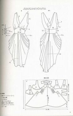 drape drape dress no5