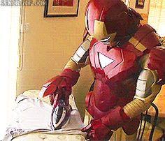 IRON(ing) (Iron)MAN