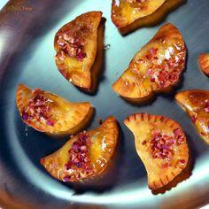 Peanut Butter and Banana Pierogies by Michael Symon! #TheChew #Dessert