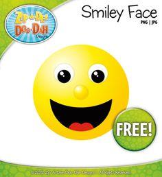Smiley Face Clip Art — FREE!