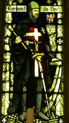Raymond du Puy de Provence (1083–1160) was a French knight and was the first Grand Master of the Order of St. John of Jerusalem (Knights Hospitaller) from 1120 to 1160.    The twelfth century Crypt of The Priory Church of St John, Clerkenwell.