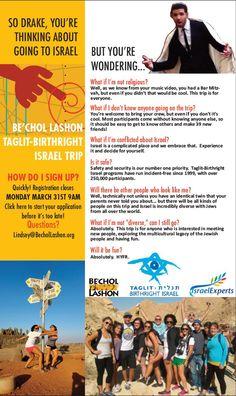 Be'chol Lashon Birthright Israel trip