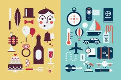 Flaterrifics - Wedding & Travel #graphics