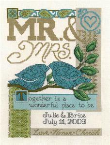 Together Cross Stitch Pattern