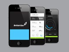 British Gas Dashboard | Brief: to create a tool, which would enable the consumer to control their energy usage. This would be a tool that could be developed over various platforms such as mobile devices, tablets, computers all through applications and the web. The aim was to create a modern concept that would show British Gas's future five-year plan to help consumers save money, be more energy efficient, receive accurate billing, and understand their energy. | Designer: MmDesign | Image 5 of 11