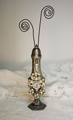 Silver Shaker Picture Holder