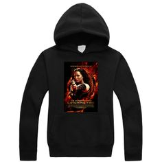 The Hunger Games Catching Fire Poster logo fashion hoodie Sweatshirt