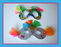 Mardi Gras Mask Craft and Celebration Song from Kiboomu
