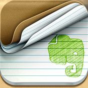 Evernote Peek FREE - This app lets you peek under the cover to study.