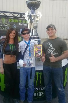 What a great time eating SNATCH jerky at the 2014 Supercross in Arizona...