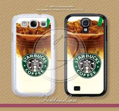 Starbucks Coffee Samsung Galaxy S4 case Samsung by fantasiacases, $3.99 Caitlin