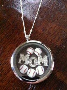baseballmom, softball mom, baseball mom, origami owl lockets, sports mom, origamiowl, basebal mom, owls, living lockets