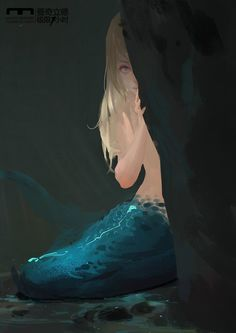 Mermaids are shy creatures, rarely ever revealing themselves to human eyes. Most people doubt they exist.