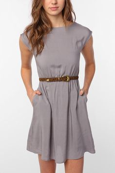 Grey Dress. Urban Outfitters.