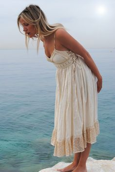 So much to discover in the ocean and in a stunning frock too! #DiscoverSummer