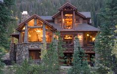 Log Home Interior Photos Design Ideas, Pictures, Remodel, and Decor - page 11