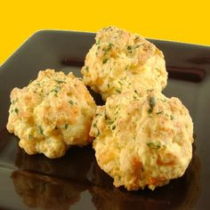 Drop Biscuits with Cheddar Cheese and Garlic Butter