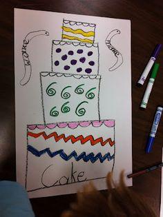 -ake family art- cake, snake, lake...