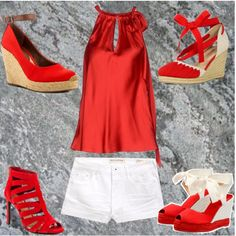 red, style