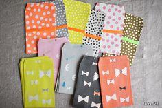 ai. Paper Pocket/Envelope {Bird Pink} Pack of 4