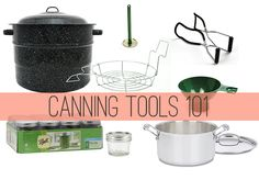 Canning Tools for Water-Bath Canning