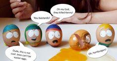 South Park eggs