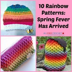 10 Rainbow Patterns: Spring Fever Has Arrived