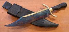Musso style Bowie knife.