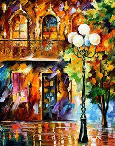 LIGHT OF LOVE- LEONID AFREMOV by Leonidafremov.deviantart.com