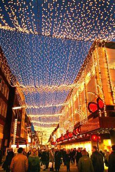 Christmas lights, Le Touquet Paris Plage