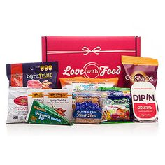 Healthy snacks delivered to your door AND you help a good cause. Yep, Love with Food is on our favorites list.