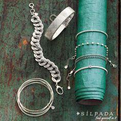 #Italian sterling silver - it's so chic! #Silpada