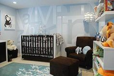blue baby #nursery designs