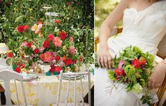 How to Style a Wedding Table // By Camille Styles