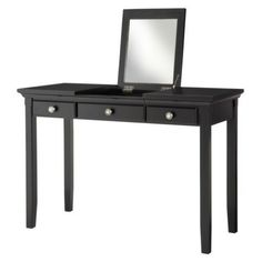 Threshold Avington Vanity Table - Black