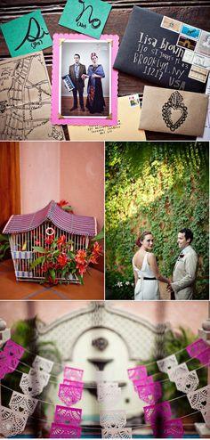 Frida Kahlo inspired wedding!!