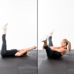 Crunch Chop - Fast Abs Workout: 5-Minutes to a Flat Stomach - Shape Magazine