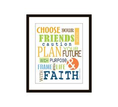 friend quotes, wall decor, decor typographi, inspir quotewal, quote wall, kids wall, quotewal decor, decor christma, inspirational quotes